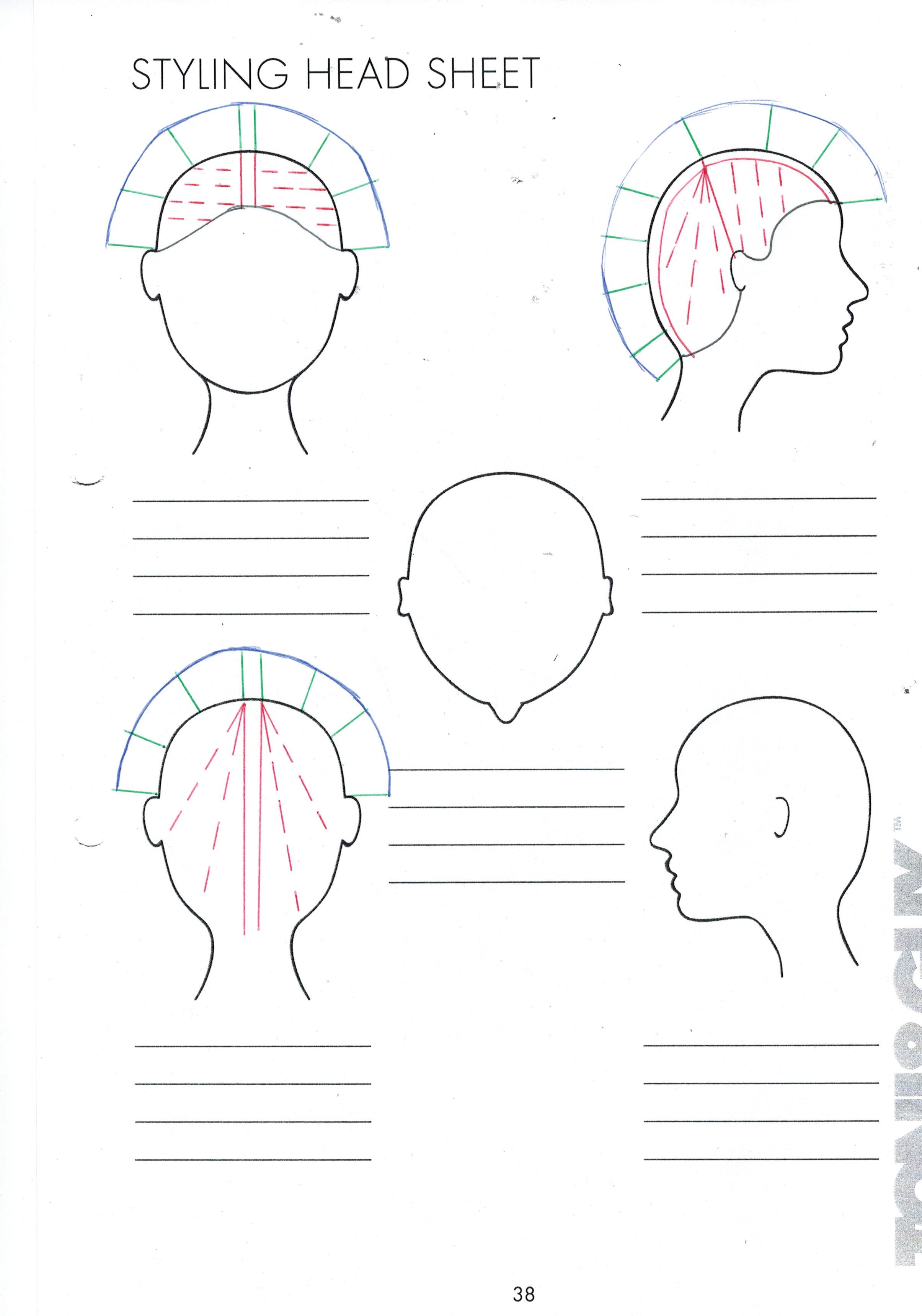 Cutting Hair Layers Horizontal Or Vertical