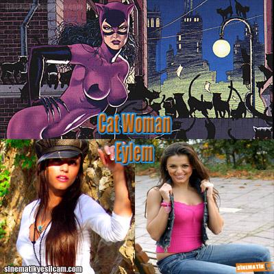 cat woman eylem