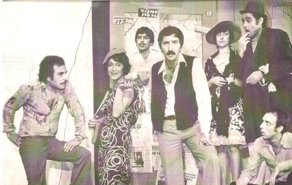 Soldan sağa -Pekcan Türkeş-Celile Toyon-Korhan Abay--Ali Poyrazoğlu -Ayşen Gruda-Alpay İzer-Tuncay Özinel
