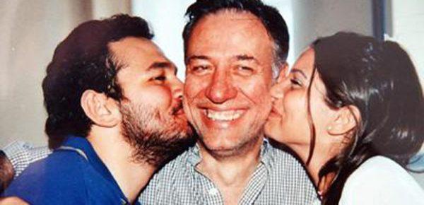 Kemal Sunal oğlu ve kızıyla