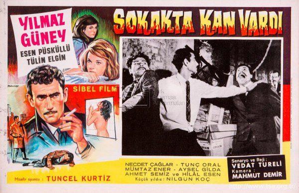 sokakta_kan_vardi_1965_ Yılmaz Güney