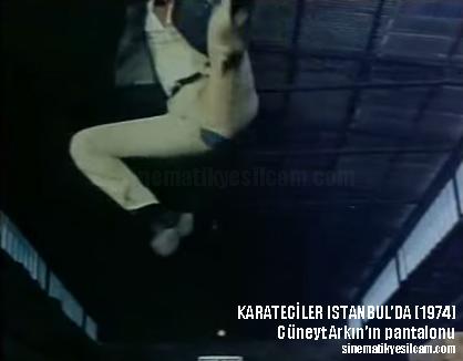 KARATECİLER İSTANBULDA pantalon