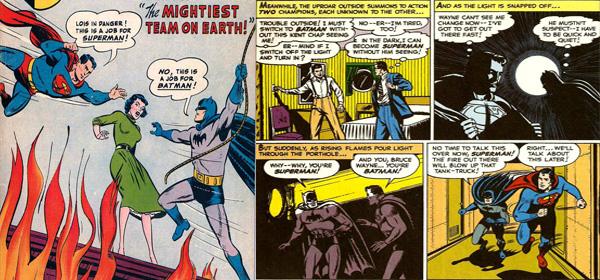 batman superman together Batman ve superman