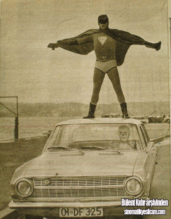 uçan adam kilinke karşı