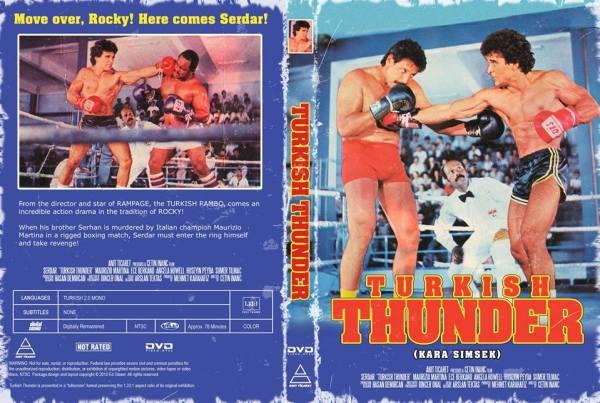 dvd turkish thunder kara şimşek