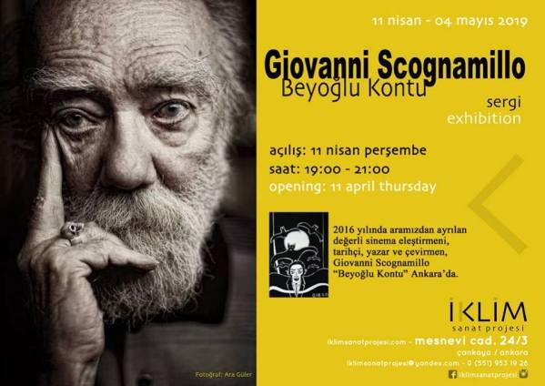 Giovanni Scognamillo Ankara'da