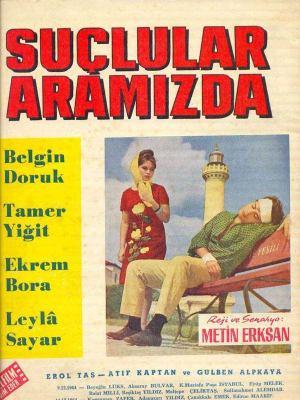 Suçlular Aramızda (1964) afiş