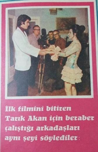 1 Temmuz 1971... Tam 49 yıl önce... Murat Hattatoğlu, Tarık Akan ilk filminde neler yaşadığını anlatıyor .....