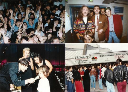 19 Eylül 1992... Stuttgart'ın dünyaca ünlü Hans Martin Schleyer Konser Salonundaki 12 bin kişinin katıldığı Barış Manço konseri ve videosu
