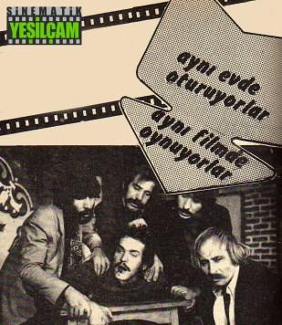 9 Ocak 1974 tarihli Hey Dergisinden Aytaç Arman & Ahmet Arkan, Aynı Evde Oturuyorlar, Aynı Filmde Oynuyorlar
