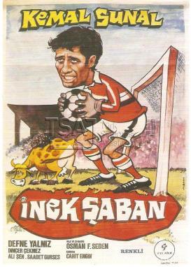 Can Sönmez hem Türk Sineması hem de bir Kemal Sunal klasiği olan 1978 yılı yapımı İnek Şaban filmini yazdı.