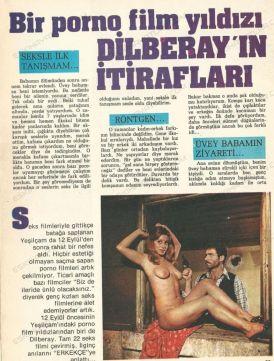 Bir porno film yıldızı Dilberay'ın İtirafları ... Yeşilçam'ın Öteki Kadınları: Dilber Ay