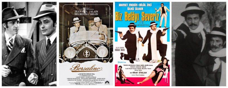 1970-1975 yılları arasında esen Borsalino rüzgarının sinemamıza etkilerini araştırıp, Yeşilçam'da Borsalino Dosyası'nı mercek altına alıyoruz.