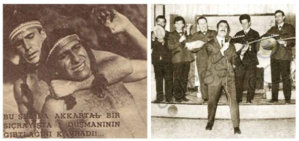 Yeşilçam'ın jönler gibi akılda kalan karakter oyuncusu Yavuz Karakaş ile Turgut Özalp'in yaptığı söyleşi.