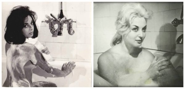 Leyla Saya Banyoda