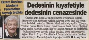 Ekrem Bora Gazete