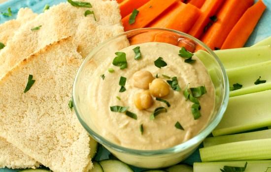 Receta: Hummus bajo en grasa