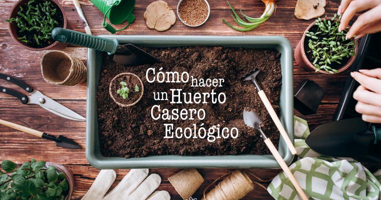 Cómo hacer un huerto casero ecológico