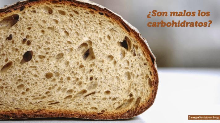 ¿Son malos los carbohidratos?