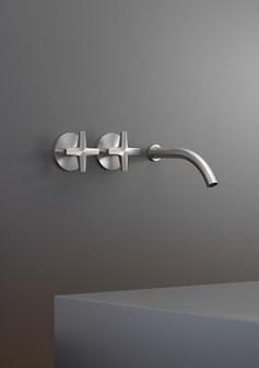 Grifo acero lavabo cea design diseño cross almacenes poveda