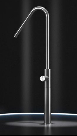 grifo radomonte hiro lavabo acero design diseño griferia almacenes poveda