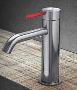 grifo acero lavabo radomonte diseño toki griferia almacenes poveda