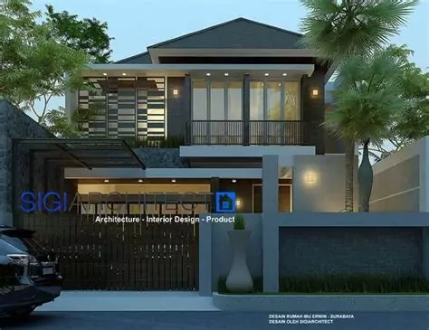 rumah lantai images pinterest house design