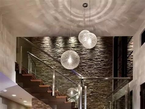 contoh kreasi desain keramik batu alam interior rumah