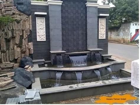 contoh desain rumah minimalis modern batu alam