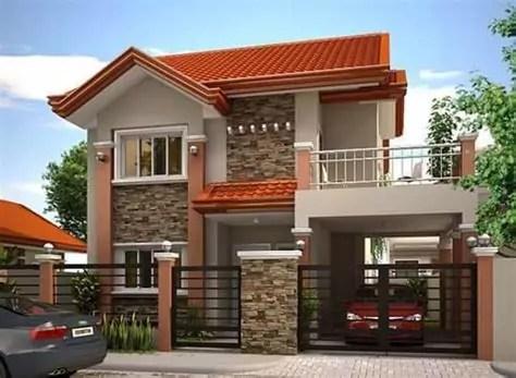 gambar rumah minimalis tampak depan lahan sempit