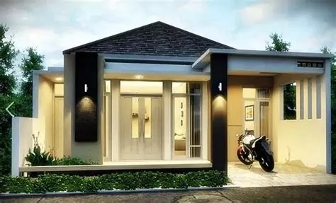 warna cat depan rumah minimalis tulisanviralinfo