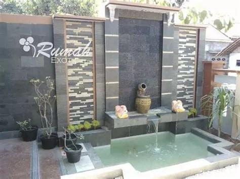 desain taman rumah kolam ikan desain kolam ikan