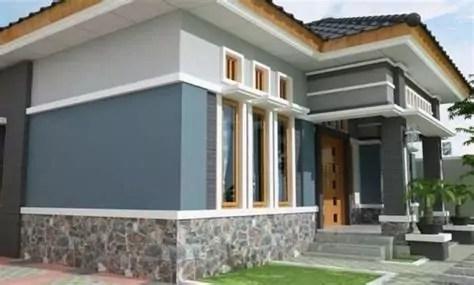 model desain rumah minimalis tampak depan terbaik