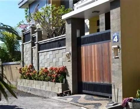 pintu pagar rumah terkini desainrumahidcom