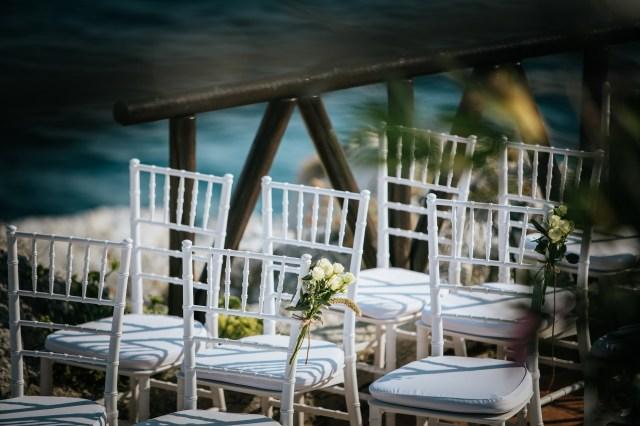 wedding ceremony overlooking the sea on Amamlfi coast