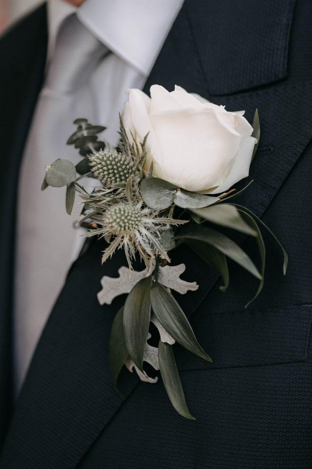 bottonhole for groom