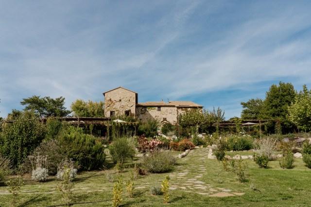 location on Umbria hills
