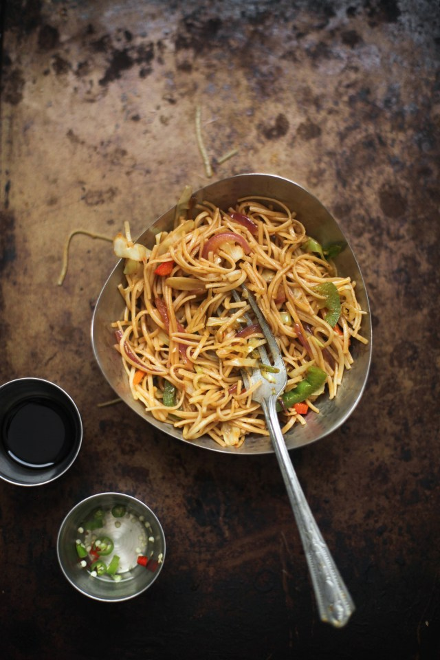 Vegetable Hakka Noodles04, SInfullySpicy