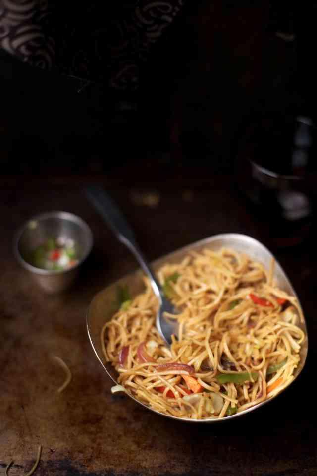 Vegetable Hakka Noodles04, SInfullySpicy