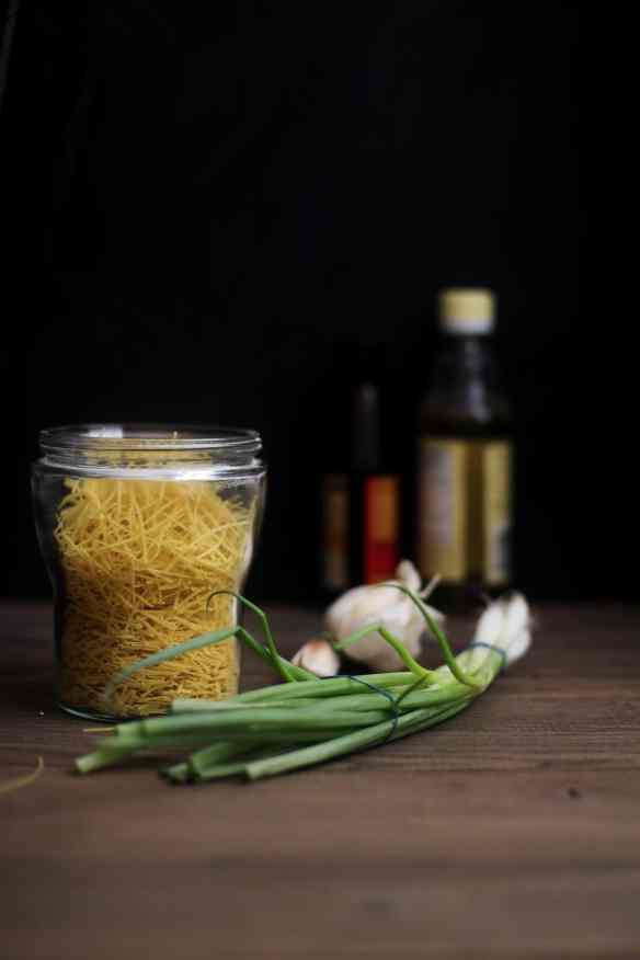 Ingredients, Vegetable Hakka Noodles, SInfullySpicy