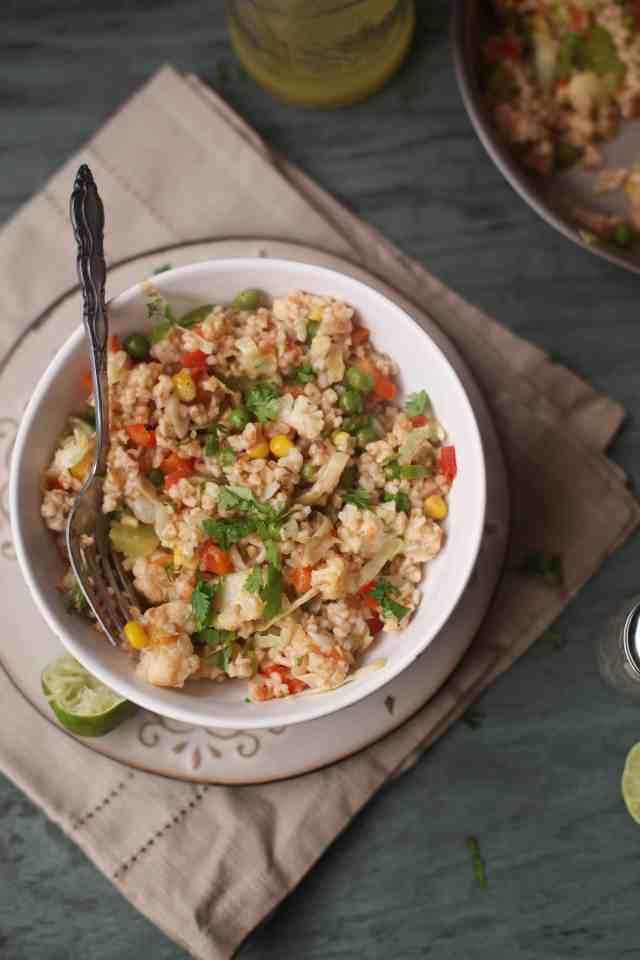 Namkeen Daliya, Savory Breakfast Oatmeal003, Sinfully Spicy