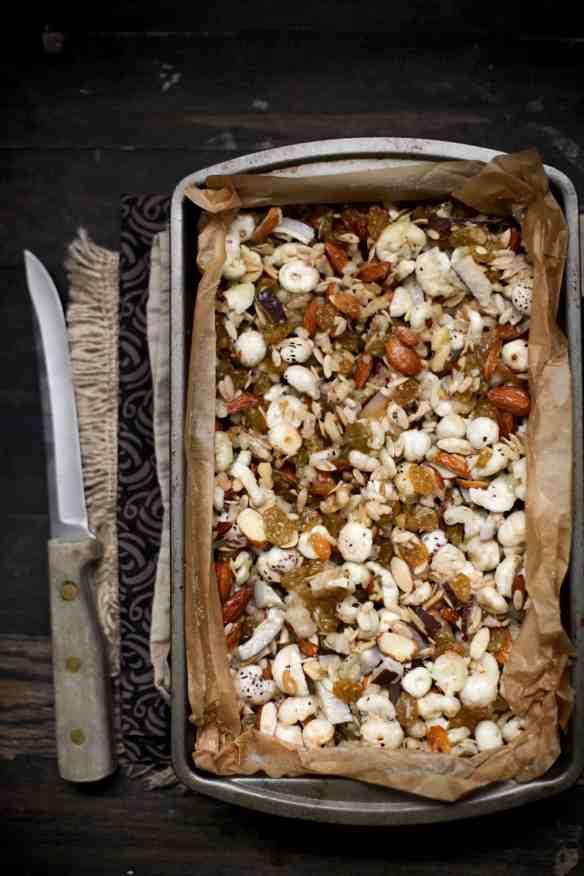 Sinfully Spicy - Mewa Chikki, Nut & Seed Brittle 05 (Gluten-Grain free)