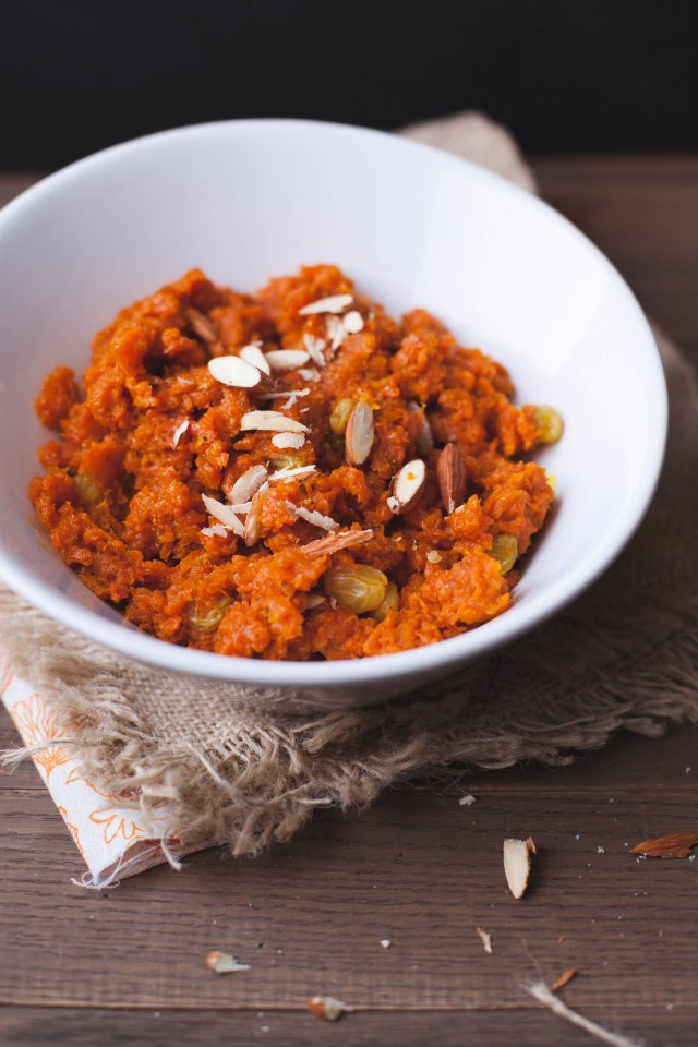 Sinfully Spicy :Gajar Halwa-Indian Carrot Confection005