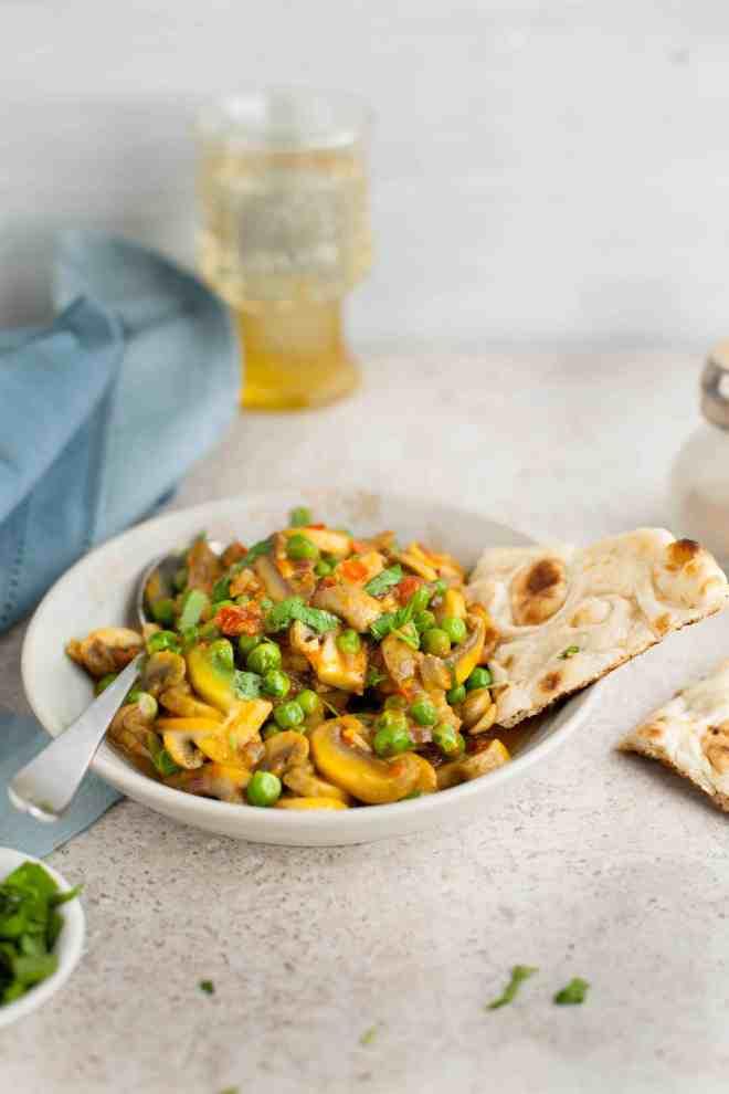 Sinfully Spicy - Mushroom Matar (peas) Stirfry04
