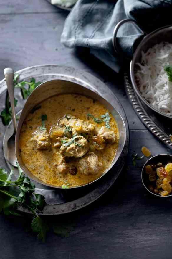 Sinfully Spicy - Murgh Korma (Chicken in Cashewnut & Cream Sauce) #indianfood