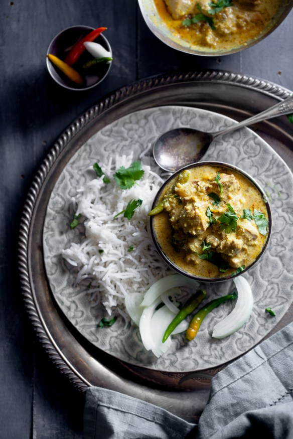 Sinfully Spicy: Murgh Korma , Chicken in Nut & Cream Sauce #indianfood