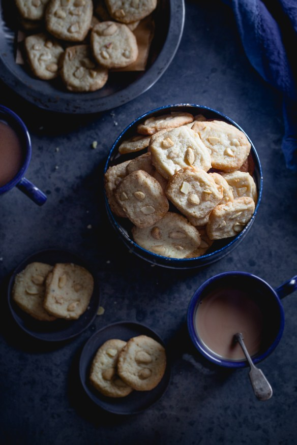 Sinfully Spicy - Kaju Biscuit, Butter Cashew Cardamom Cookies #indian
