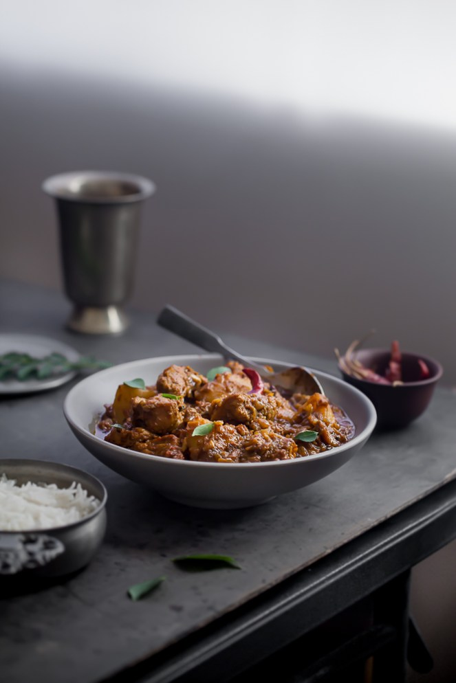 Sinfully Spicy : Chicken Vindaloo