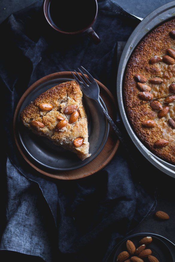Sinfully Spicy: Semolina Almond Cake With Cardamom