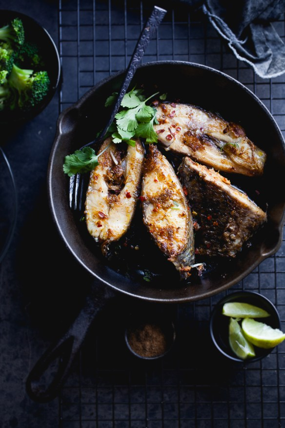 Sinfully Spicy - Tangy Pan fried Fish